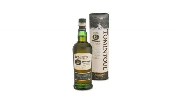 Tomintoul Peaty Tang 15 éves (0,7 l, 40%)